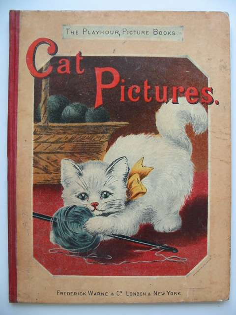 Photo of CAT PICTURES written by Valentine, Mrs. illustrated by Wain, Louis<br />Ronner, Henriette published by Frederick Warne &amp; Co. (STOCK CODE: 821218)  for sale by Stella & Rose's Books