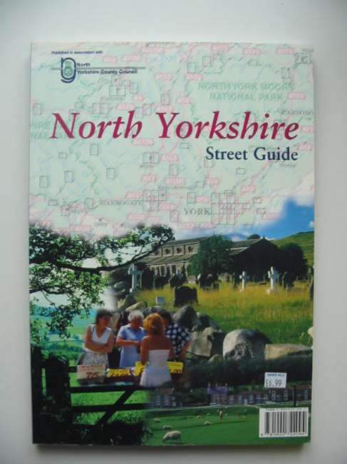 Photo of NORTH YORKSHIRE STREET GUIDE published by Arrow Publishing (STOCK CODE: 821368)  for sale by Stella & Rose's Books
