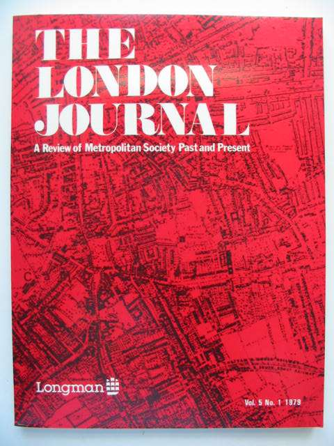 Photo of THE LONDON JOURNAL VOL.5 No.1 1979- Stock Number: 821434