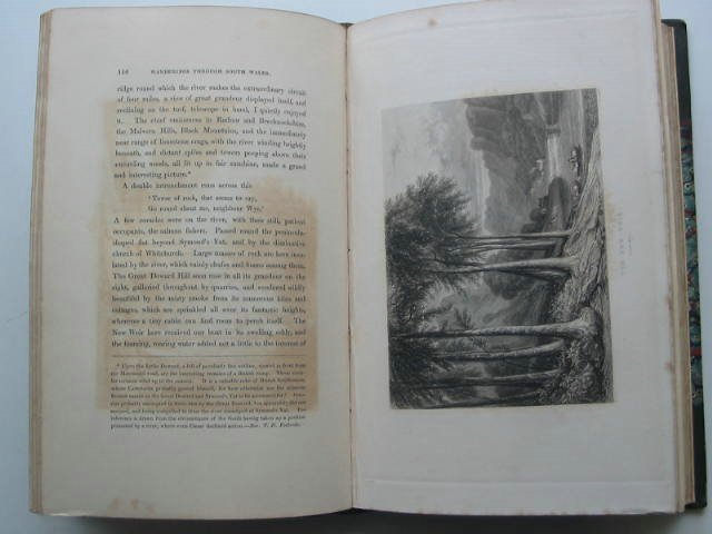 Photo of WANDERINGS AND EXCURSIONS IN SOUTH WALES INCLUDING THE COURSE OF THE WYE written by Roscoe, Thomas illustrated by Cox, D. et al.,  published by C. Tilt and Simpkin and Co. (STOCK CODE: 822168)  for sale by Stella & Rose's Books