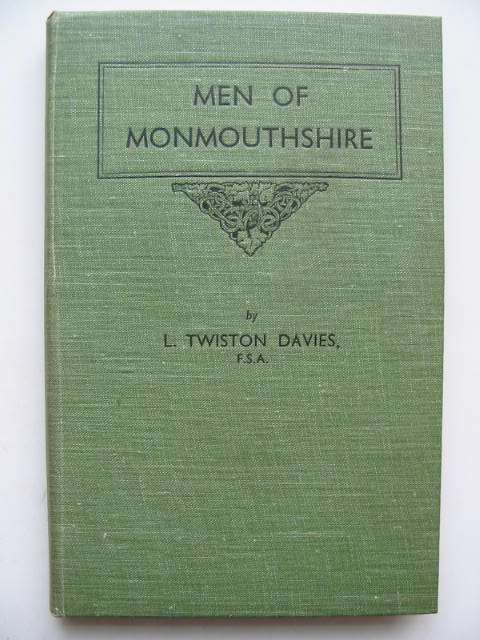 Photo of MEN OF MONMOUTHSHIRE written by Davies, Leonard Twiston published by Western Mail And Echo Limited (STOCK CODE: 822297)  for sale by Stella & Rose's Books
