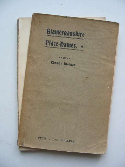 Photo of GLAMORGANSHIRE PLACE-NAMES written by Morgan, Thomas published by John E. Southall (STOCK CODE: 822305)  for sale by Stella & Rose's Books