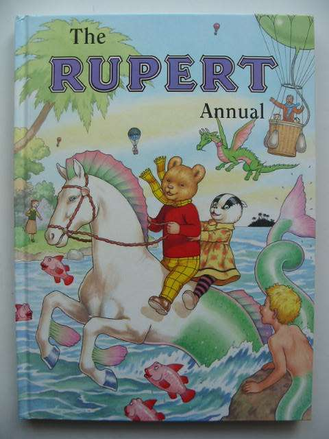 Photo of RUPERT ANNUAL 2001 written by Robinson, Ian illustrated by Harrold, John published by Pedigree Books Limited (STOCK CODE: 822338)  for sale by Stella & Rose's Books