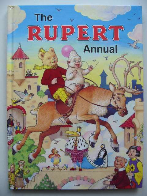 Photo of RUPERT ANNUAL 2006 written by Henderson, Jim illustrated by Harrold, John published by Express Newspapers Ltd. (STOCK CODE: 822340)  for sale by Stella & Rose's Books