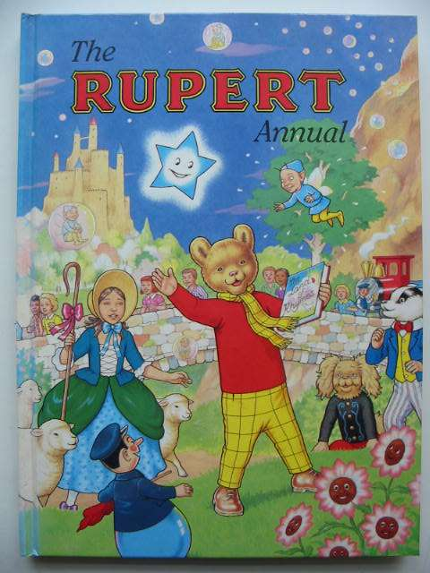 Photo of RUPERT ANNUAL 1996 written by Robinson, Ian illustrated by Harrold, John<br />Hart, Gina published by Pedigree Books Limited (STOCK CODE: 822363)  for sale by Stella & Rose's Books