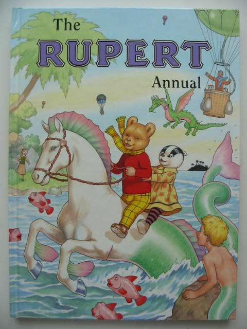Photo of RUPERT ANNUAL 2001 written by Robinson, Ian illustrated by Harrold, John published by Pedigree Books Limited (STOCK CODE: 822424)  for sale by Stella & Rose's Books