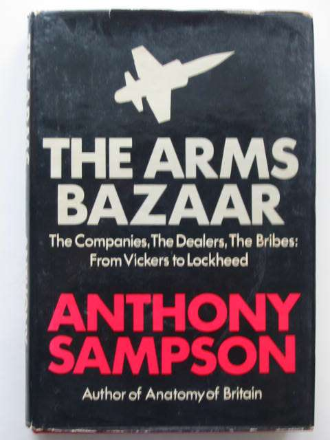 Photo of THE ARMS BAZAAR written by Sampson, Anthony published by Hodder & Stoughton (STOCK CODE: 823008)  for sale by Stella & Rose's Books