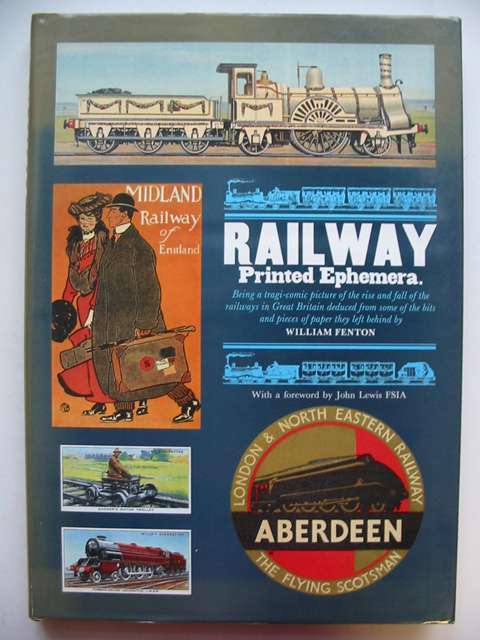 Photo of RAILWAY PRINTED EPHEMERA- Stock Number: 823043
