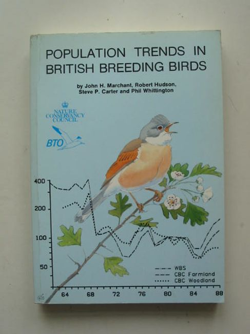 Photo of POPULATION TRENDS IN BRITISH BREEDING BIRDS written by Marchant, John H.<br />Hudson, Robert<br />Carter, Steve P.<br />Whittington, Phil published by British Trust for Ornithology (STOCK CODE: 823818)  for sale by Stella & Rose's Books