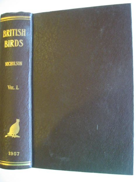 Photo of BRITISH BIRDS VOL. L written by Nicholson, E.M. published by H.F. & G. Witherby Ltd. (STOCK CODE: 875014)  for sale by Stella & Rose's Books