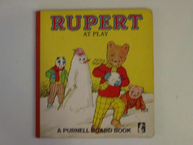 Photo of RUPERT AT PLAY- Stock Number: 900219