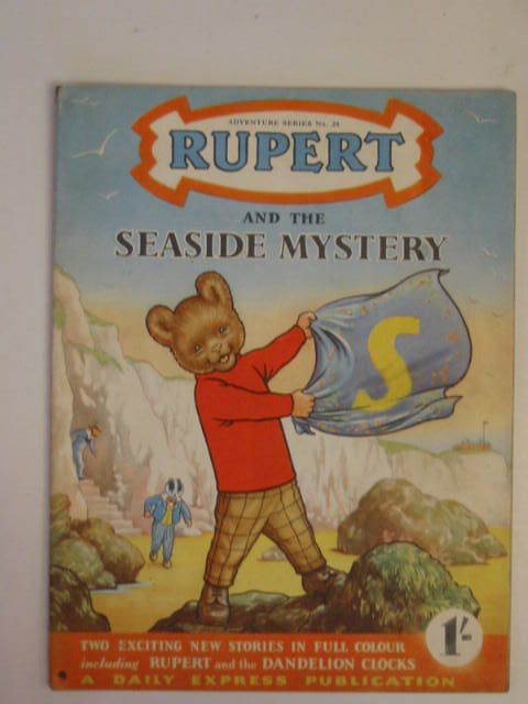 Photo of RUPERT ADVENTURE SERIES No. 26 - RUPERT AND THE SEASIDE MYSTERY written by Bestall, Alfred published by Daily Express (STOCK CODE: 900226)  for sale by Stella & Rose's Books