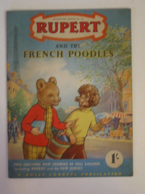 Photo of RUPERT ADVENTURE SERIES No. 25 - RUPERT AND THE FRENCH POODLES- Stock Number: 900273