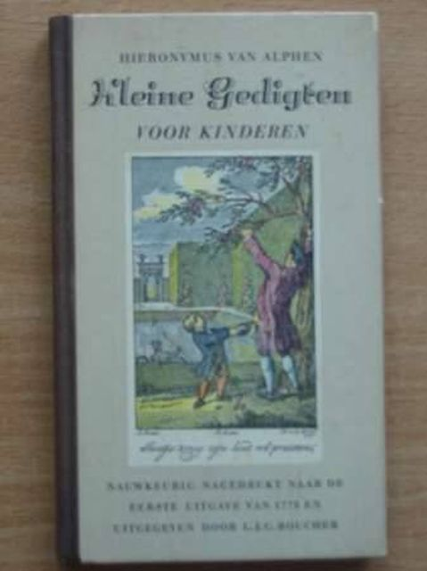 Photo of KLEINE GEDIGTEN VOOR KINDEREN written by Van Alphen, Hieronymus (STOCK CODE: 986811)  for sale by Stella & Rose's Books
