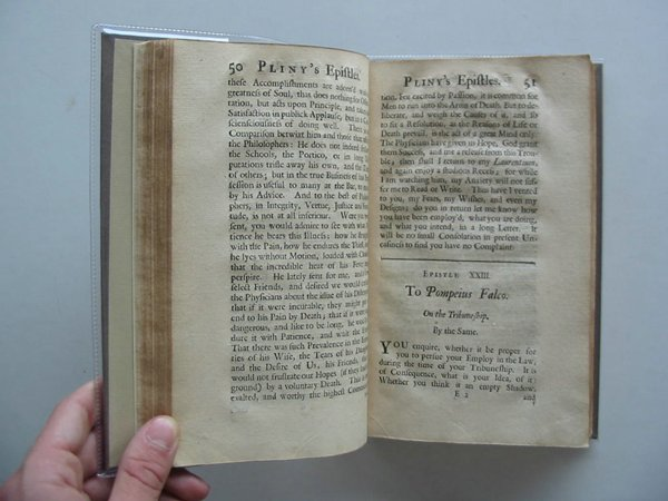 Photo of PLINY'S EPISTLES AND PANEGYRICK written by Pliny,  Henley, Mr. published by W. Mears (STOCK CODE: 988699)  for sale by Stella & Rose's Books
