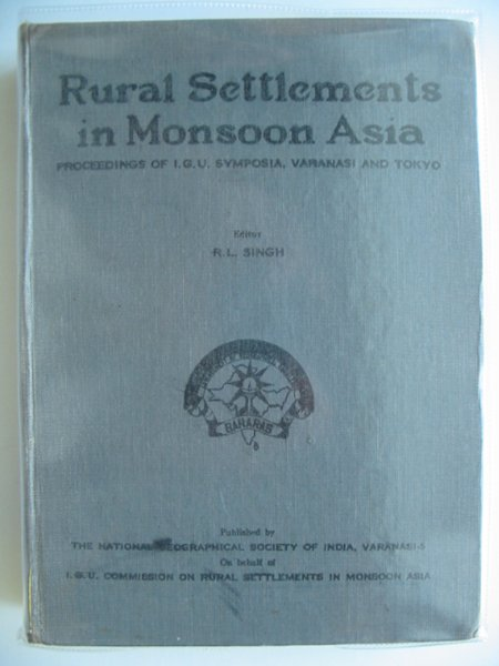 Photo of RURAL SETTLEMENTS IN MONSOON ASIA- Stock Number: 988938