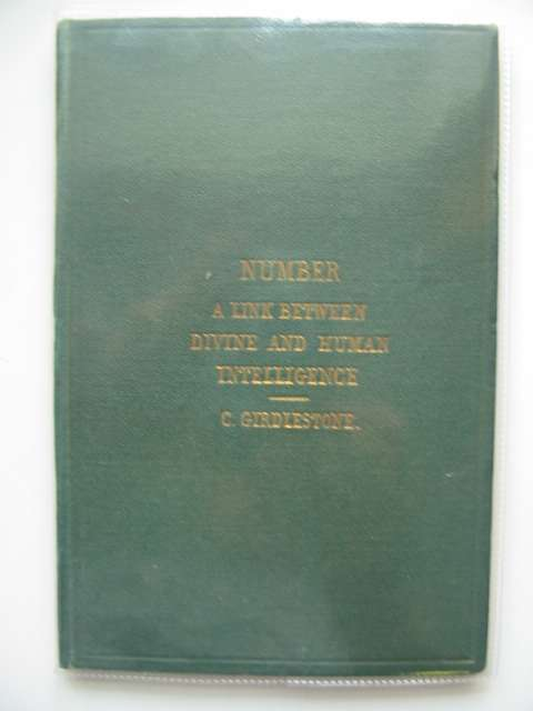 Photo of NUMBER A LINK BETWEEN DIVINE AND HUMAN INTELLIGENCE written by Girdlestone, Charles published by Longmans, Green & Co. (STOCK CODE: 989348)  for sale by Stella & Rose's Books