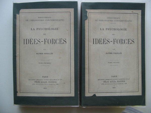 Photo of LA PSYCHOLOGIE DES IDEES-FORCES- Stock Number: 990439