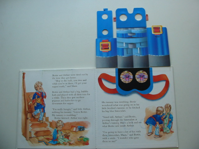 Photo of BERTIE'S BIG BLUE BINOCULARS written by Faulkner, Keith illustrated by Davies, Jo published by Premier (STOCK CODE: 990912)  for sale by Stella & Rose's Books
