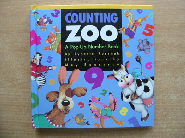 Photo of COUNTING ZOO written by Ruschak, Lynette illustrated by Rousseau, May published by Envision Publishing (STOCK CODE: 991012)  for sale by Stella & Rose's Books