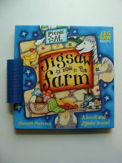 Photo of PICNIC AT JIGSAW FARM written by Maizels, Jennie illustrated by Maizels, Jennie published by David & Charles (STOCK CODE: 991323)  for sale by Stella & Rose's Books