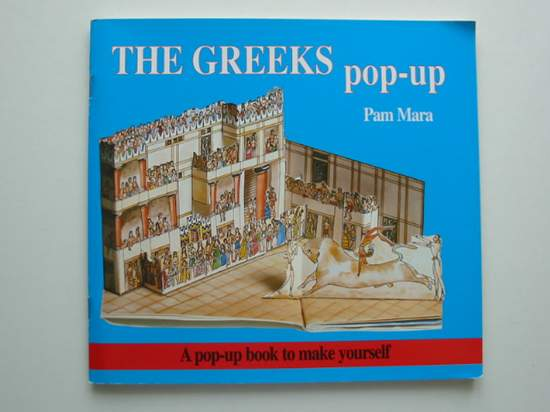 Photo of THE GREEKS POP-UP written by Mara, Pam<br />Jenkins, Gerald published by Tarquin (STOCK CODE: 991405)  for sale by Stella & Rose's Books