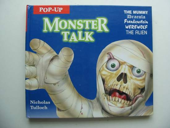 Photo of POP-UP MONSTER TALK written by Tulloch, Nicholas illustrated by Fryer, George Montgomery, Lee published by Electric Paper (STOCK CODE: 991670)  for sale by Stella & Rose's Books